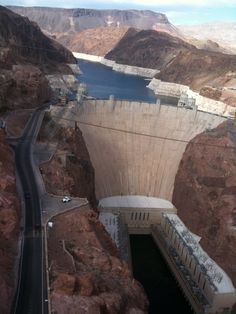1996 - Hoover Dam.I was fortunate to be able to take the dam hard hat tour deep inside of the dam.  If you like big machines, you would love the generator room - no, I did not see a Decipticon down there.  I think they closed the dam tour after 9/11.