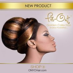 Our amazing Fro-Out collection is now available in color! With the new Fro-Out Golden Collection, you can obtain the coveted Fro-Out look in color hues ranging from a sober #2 (brown) to an illuminating #27 (sunny blonde) and even a vibrant #613 (platinum blonde)! This new collection affords you the flexibility of diversifying your style without damaging your precious hair cuticles thus enhancing the length of the wear.