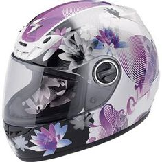 This is my new helmet. Love it, so comfy and it's purple. ;-)