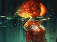 Fire by Biannnn.deviantart.com on @DeviantArt
