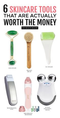 6 Must Have Skincare Tools That Are Actually Worth The Money – Hot Beauty Health – Dry Skin Care Beauty Care, Beauty Skin, Haut Routine, Best Skincare Products, Skin Care Products, Best Facial Products, Skincare Dupes, Baby Products, Skin Care Clinic