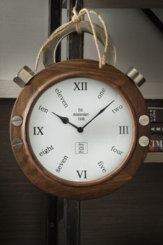 €169,00 Amsterdam Watch Clock #living #interior #rivieramaison