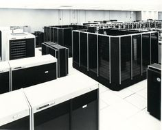 First supercomputer I used as a student, CDC 7600 at CINECA.