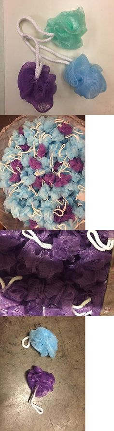 Bath Brushes and Sponges: (40) Loofas Micro Mini Body Sponge Loofa Loufa Loufas Loofah Loufah Scrub 3 X 3 -> BUY IT NOW ONLY: $30 on eBay!