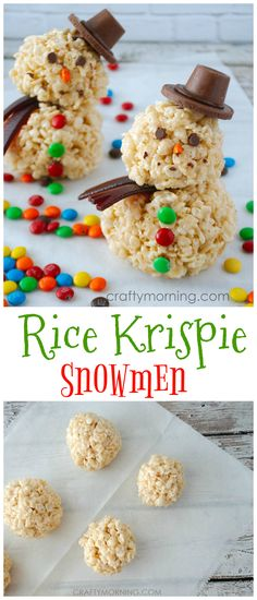 Best holiday treats for kids schools rice krispies Ideas Kids Christmas Treats, Christmas Recipes For Kids, Christmas Deserts, Xmas Food, Christmas Cooking, Noel Christmas, Holiday Treats, Rice Crispy Christmas Treats, Christmas Desserts For Kids To Make