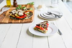 Vegetable and Chicken Torte