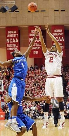 The Wat-Shot. IU 73 Kentucky 72 --still gives me chills everytime..this is what college basketball is all about! #buzzerbeater