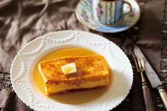 フレンチトーストをふっくら焼き上げるコツ。多めの卵黄が決め手(ESSE-online) - Yahoo!ニュース French Toast, Sweets, Cooking, Breakfast, Recipes, Food, Yahoo, Kitchen, Morning Coffee