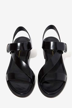 Intentionally Blank Emmit Leather Sandal - Shoes | Heels