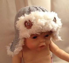 Ravelry: Baby Aviator Hat pattern by Hope Bell