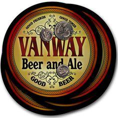 Beer Coasters Vanway Wanker Warter Weckel Ajanel Ardner Ashfaq Bedker Beloin #ZuWEE #FathersDayBirthdayWeddingHousewarming