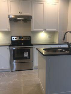 Kitchen Cabinets, Kitchen Appliances, Wall Oven, New Kitchen, Townhouse, Home Decor, Kitchen Cupboards, Diy Kitchen Appliances, Homemade Home Decor