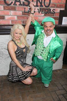 Holly Madison celebrates St. Pattys Day