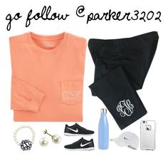 """""""follow @parker3202 !!!"""" by nc-preppy-living ❤ liked on Polyvore featuring S'well, Vineyard Vines, NIKE and LifeProof"""