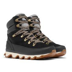 Women´s Kinetic Conquest fra Sorel er et par støvler med for for damer som passer til dine fritidsaktiviteter. Mid Calf Boots, Thigh High Boots, Ankle Boots, Snow Boots, Winter Boots, Lace Up Boots, Black Boots, Suede Leather, Leather Shoes