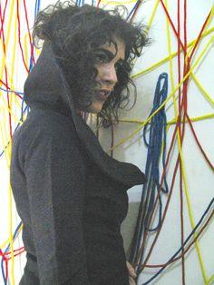 Alumna Cecilia Strada  Diseño I: inspiradas en Jackson Pollock. 2