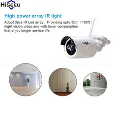 Hiseeu NVR Kit Security System Video Surveillance Night Vision IP Camera HD 720P 8CH Wireless CCTV System Kit Wifi Camera 52  Price: 326.00 & FREE Shipping #computers #shopping #electronics #home #garden #LED #mobiles #rc #security #toys #bargain #coolstuff  #headphones #bluetooth #gifts #xmas #happybirthday #fun Wireless Surveillance System, Ip Camera, Security Camera, Night Vision, Mobiles, Computers, Wifi, Bluetooth, Headphones
