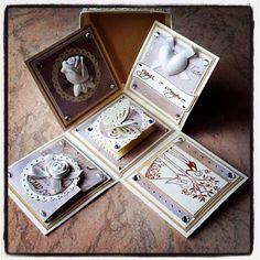 briciole di gioia: Exploding box per un matrimonio