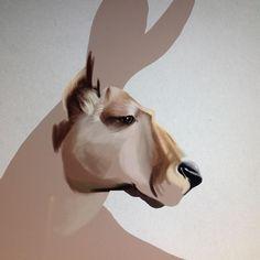 Starting to paint up the Kangaroo from summer pencil sketching. Stay tuned! #kangaroo #digitalart #illustration #robart #wip #animalart #instaartist #instaart instagram   art   ideas   follow