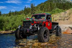 1952 Dodge Power Wagon Sports LS Engine