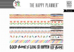 Washi Tape - Good Things Are Going To Happen – me & my BIG ideas