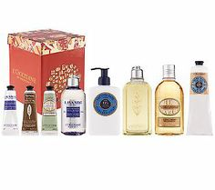 Pamper her (or yourself!) with the L'Occitane Escape to Provence 8-piece Collection! #QVCgifts