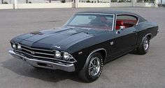 69' Chevy Chevelle ss nothing beats an old muscle car!