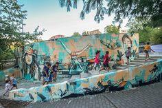 Exposição Aberta à todos que passam: assim é a arte de rua chamada Grafite.