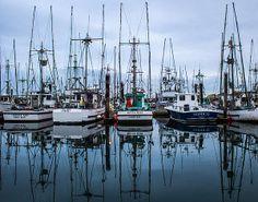 Reflecting Charleston, Coos Bay, Oregon