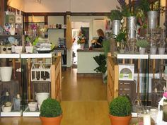 Flower Shop Interior -counter