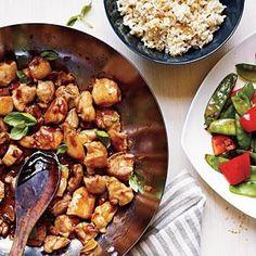 Spicy Basil Chicken | MyRecipes.com