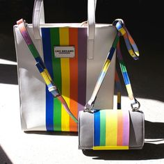 Tote the rainbow. #LoveWins