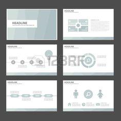 Lichtblauw Multipurpose Infographic elementen en het pictogram presentatiesjabloon plat ontwerp set  Stockfoto