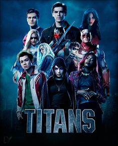 Looking for some cool posters from your favorite DC series Titans? Check out the fantastic collection of Titans poster. Batman Universe, Dc Universe, Titans Tv Series, Teen Titans Go, The Titans, Dc Comics Vs Marvel, Detroit Police Department, Free Poster Printables, Netflix