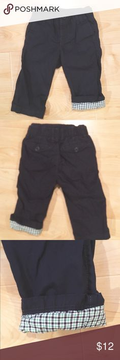 Baby GAP boys lined khaki pants, 12-18m NWOT. GAP brand heavy weight khakis for baby boy. Lined with adorable plaid print, adjustable fit elastic waistband, pull on style, back button pockets, very well made and warm! Was given as a gift but my son was too big for them, never worn, may have been washed once upon receiving them. NEW!! Size 12-18 months.  *Bundle and save with other items from my closet! GAP Bottoms