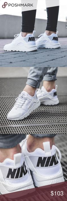 ✨✨{Nike} White Air Max Hurache Ultra Women's size Want! Nike Free Shoes, Nike Shoes Outlet, Running Shoes Nike, Grey Shoes, Cute Shoes, Me Too Shoes, Adidas Shoes Women, Nike Women, Vans Women