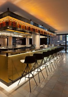 Our #Lottus barstools at the INK hotel in Amsterdam. http://blogeneadesign.tumblr.com/post/125238705342/ink-hotel-lottus?utm_content=buffer582d5&utm_medium=social&utm_source=pinterest.com&utm_campaign=buffer #design #hotels #contract #Amsterdam #hospitality #bars