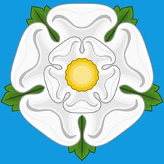 The WHITE ROSE of YORK (also called the Rose alba or rose argent), a white heraldic rose, is the symbol of the House of York and has since been adopted as a symbol of Yorkshire as a whole. Richard Iii, Tudor Rose, Waterfalls In Yorkshire, Lancaster, Isabel Woodville, White Roses, Red Roses, Enrique Viii, Ireland