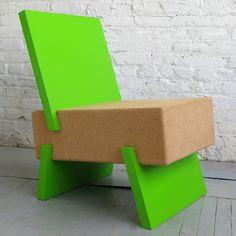 3/1 Lounge Chair by Daniel Michalik. @designerwallace