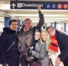 Being trapped on the subway with the cast of Downton would be great fun