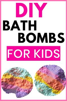 DIY bath bombs are easy and simple to make! This homemade bath bomb recipe for kids turns a boring bath time routine into a fun experience for girls and boys. Check out these bath bombs DIY recipes, bath bombs aesthic, bath bombs for kids. If you love natural beauty, green beauty, making your own bath salts. They make perfect gifts. Unicorn #bathbombs #DIYbathbombs #diybath #howtomakebathbombs #bathbombrecipe #kids #kidscraft #kidsbathbombs #toys #simplebathbombs #DIYbeauty #greenbeauty
