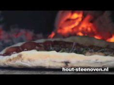 een pizza oven van hout-steenoven.nl  Zo bak je een heerlijke steenovenpizza.