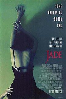 Original movie poster for JADE 26525 Original Paramount Pictures One Sheet Poster Unfolded. Very Fine. Movies To Watch, Good Movies, Open Back Black Dress, David Caruso, 1995 Movies, San Francisco, Original Movie Posters, Original Music, Linda Fiorentino