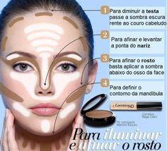 maquiagem passo a passo - Pesquisa Google