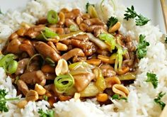 Kuřecí kung pao z letáku Albert No Salt Recipes, Keto Recipes, Chicken Recipes, Cooking Recipes, Slovak Recipes, Czech Recipes, Asian Recipes, Ethnic Recipes, Thing 1