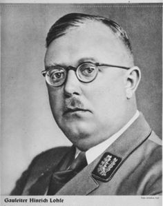 Hinrich Lohse (2 September 1896 – 25 February 1964) was a Nazi German politician, best known for his rule of the Baltic states during World War II.