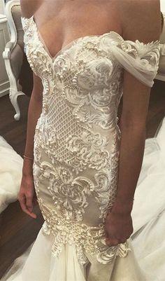 white lace wedding dress, 2017 long wedding dress, off the shoulder wedding dress, lace wedding dress