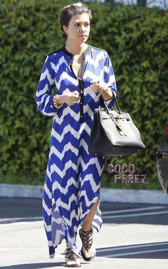 kourtney kardashian + dress