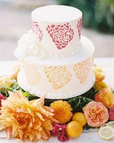 Summer Wedding Cakes We're Sweet On   Martha Stewart Weddings