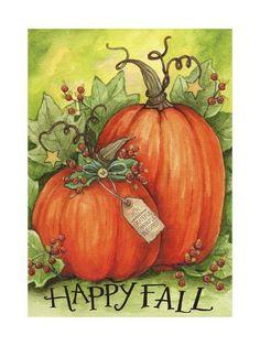 Trademark Fine Art 'Thankful Pumpkins' Canvas Art by Melinda Hipsher, Size: 30 x 47 Artist Canvas, Canvas Art, Fall Canvas, Canvas Ideas, Pumpkin Canvas, Pumpkin Art, House Flags, Green Backgrounds, Baby Clothes Shops